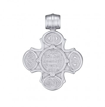 Серебряный крестик 32117