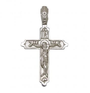 Серебряный крест с Распятием 3224