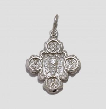 Серебряный крестик 3264