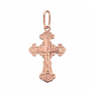 Золотой крестик с Распятием Христа z3210-K