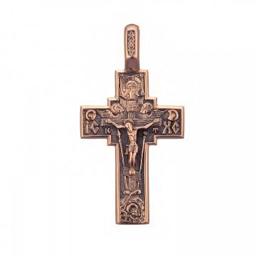 Золотой крестик с Распятием Христа z3259-K