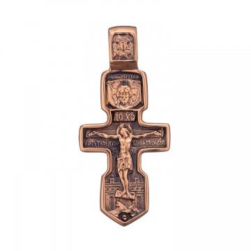 Золотой крестик z3278-K