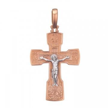 Золотой крестик с Распятием Христа z3298-K